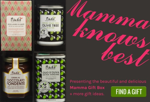 Mamma knows best - find her a special gift at Nudo-Italia.com
